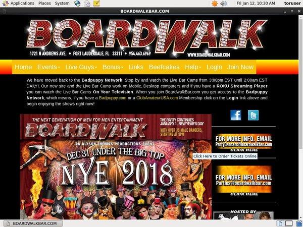 Boardwalkbar.com 2018 Free